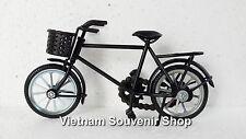 Handmade Miniature Metal Art Model Bicycle -Black color -Men Bicycle Gift