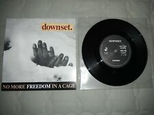 """downset. No More Freedom In A Cage Vinyl 7"""" Sick Of It All CIV Madball Insted"""