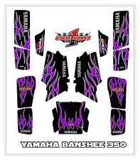 Yamaha Banshee Twin 350 SEMI CUSTOM GRAPHICS KIT Special Edition