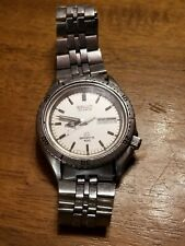Vintage Seiko SQ Sports 100 Quartz  Mens Watch  Day Date