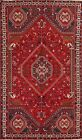 Vintage Geometric Abadeh Tribal Oriental Area Rug Hand-knotted Wool Carpet 6x10
