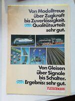 Vintage Model Railroad Catalog Fleischmann German