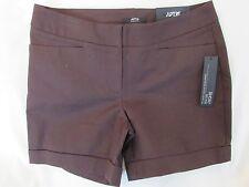 "Ladies ""Apt 9"" Size 12, Black Coffee (Brown), Mid Rise, City Short Shorts"