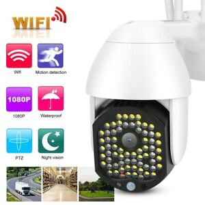 WiFi Camera Security Cam Night Vision Motion Detect 1080P H264 Support ONVIF