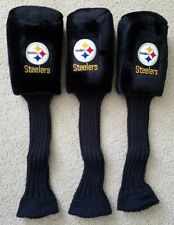 Pittsburgh Steelers Embroidered Golf Head Covers 3 SET 1-3-X