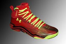 Under Armour Micro G Pro 1251479 Mens Red Comp Fit Basketball Sneakers Shoes 20