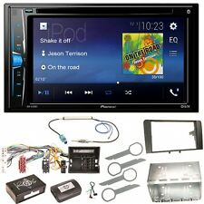 Pioneer avh-a200bt USB iphone mp3 wma Bluetooth kit de montage pour audi a3 8p 8 pa