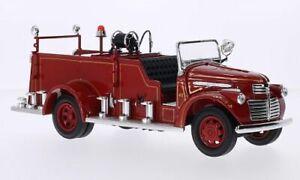 GMC Firetruck, rot, 1:24, Lucky Die Cast