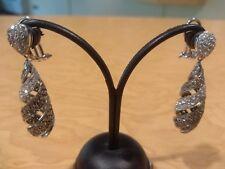 Orecchini diamanti bianchi brown