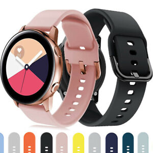 Color Sport Watch Band Strap For Samsung Galaxy Watch 3 45mm Active 2 44mm 40mm