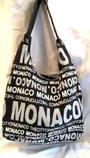 Monaco Robin Ruth City Bag Brown Blue