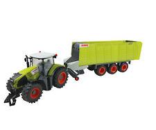Happy People RC CLAAS tracteur & remorque benne Trekker Axion Toys 1:16 véhicule