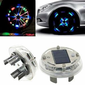 Fahrrad Ventilkappen LED Speichenlicht Radlicht Ventil Reifen Licht Felgenlicht