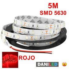 Tira Led 5M 300 led SMD 5630 ROJO INTERIOR IP20