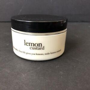 Philosophy Lemon Custard Glazed Body Souffle 4oz New Sealed