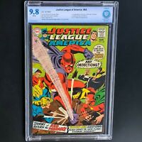 JUSTICE LEAGUE of AMERICA #64 💥 CBCS 9.8 💥 1ST SA RED TORNADO! 9 in CGC Census