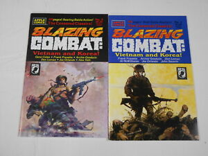 Blazing Combat: Vietnam and Korea #1-2, (Apple), 8.5 VF+ - 9.0 VF/NM