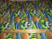 VINTAGE EUROPEAN INFLUENCE PRINT FABRIC * 14+ YARDS IN STOCK - BY THE YD *