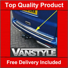 VW T5 TAILGATE CHROME EDGE PROTECTOR TRIM STAINLESS STEEL CARAVELLE 2003-2015