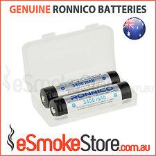 2/4/6x RONNICO PROTECTED Button Top 3400mAh Panasonic NCR18650B Nipple Batteries