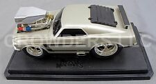 Muscle Machines 1969 Pony Car Gun Metal Gray Mustang Boss 302 1:18 NHRA Hot Rod