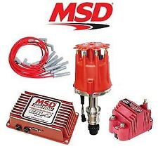 MSD 9255 Ignition Kit Programmable 6AL-2/Distributor/Wires/Coil - Oldsmobile V8
