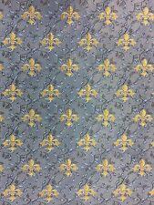 "Fleur de lis Brocade 132cm 51"" Waistcoat/Bridal Reversable Fabric per Meter"