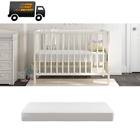 CHILD CRIB MATTRESS Firm Baby Toddler Waterproof Bed Infant Comfort Mattresses
