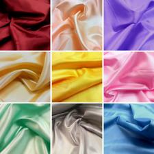 30m Roll of Habutae Faux Silk Fabric - Great Bulk Buy Saving - Over 15 Colours!!