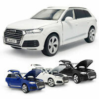 1:32 Scale Audi Q7 SUV Model Car Alloy Diecast Toy Vehicle Kids Gift w/ Light