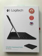 Logitech UK QWERTY Russian Black Keyboard Folio Case for iPad Air/ Pro 9.7
