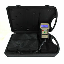 Electronic Refrigerant Charging Digital Weight Scale with Case for HVAC 220 lbs