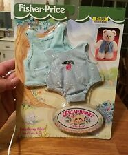 Fisher Price shirt vest Outfit For Briarberry Stuffed Dolls New   75034 bear