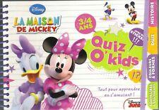 °  Quiz O' Kids  - La maison de Mickey - 3/4 ans -  Neuf