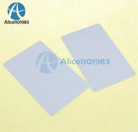 2PCS NFC smart card tag tags 1k S50 IC 13.56MHz Read & Write RFID Arduino