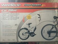 WeeRide Co-Pilot Bike Trailer White New Damaged Box