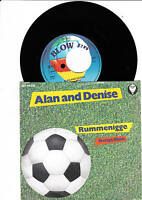 Alan and Denise   -    Rummenigge  Label  Fehlpressung