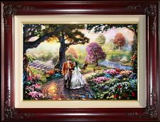 Thomas Kinkade Gone With The Wind 18x27 Artist Proof A/P Framed Limited Canvas