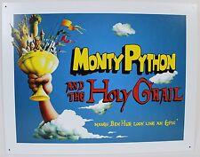 Monty Python Holy Grail Metal Sign New Reproduction Comedy Movie Film Tv Bbc Usa