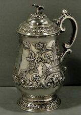 Indian Sterling Tankard c1850 * Charles Nephew, Calcutta * 26 Ounces