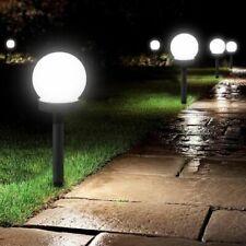 Lawn Light Outdoor Solar Lamp Garden Landscape Path Round Waterproof Decor Bulb