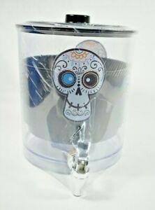 Holiday Home- Day of the Dead / Día de los Muertos Printed Beverage Dispenser -