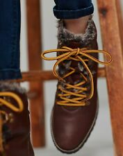 Joules Womens Ashwood Hiker Boots - Chestnut - Adult 5