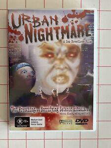 Urban Nightmare - Region All Rare- Aus Stock DVD Excellent Condition