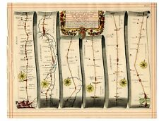 Fernando STRISCIA Mappa Londra a Stilton, STILTON a tuxford