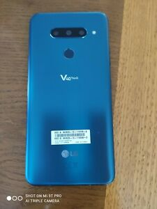LG V40 THINQ: UNMARKED AUST' STOCK 128GB ANDROID 10 DUAL SIM MORROCAN BLUE