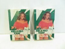 KOOL & Mild TODAY Cigarette PLAYING CARDS Vintage 70's  Sealed   LOT OF 2