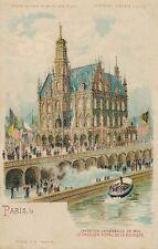 1900 Paris Exposition Le Pavillon Royal De La Belgique Belgium – udb