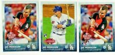 (3-card lot) 2015 Topps Update JOC PEDERSON (RC) rookie [Mint]