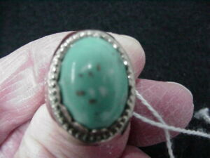 CHOICE CONDITION VINTAGE SKY KING NAVAJO TREASURE RING MAIL IN PREMIUM 1950